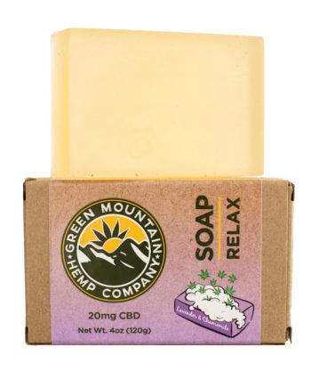 CBD Soap from Green Mountain Hemp Company